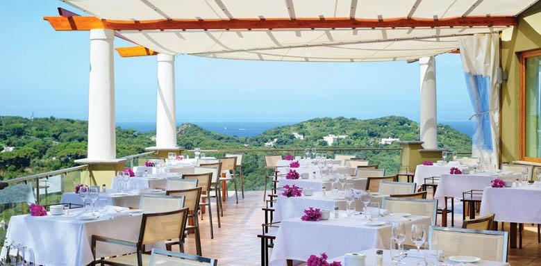 San Montano Resort & Spa, restaurant
