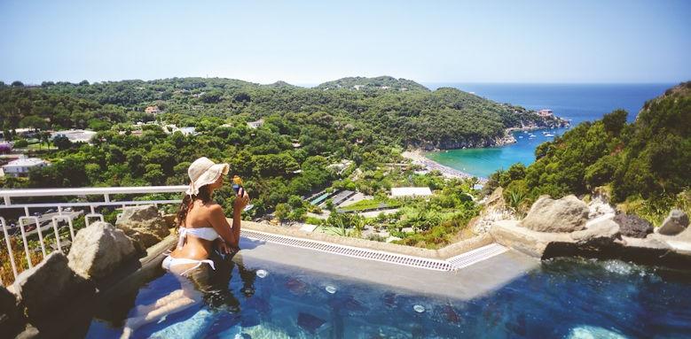 San Montano Resort & Spa, woman by pool