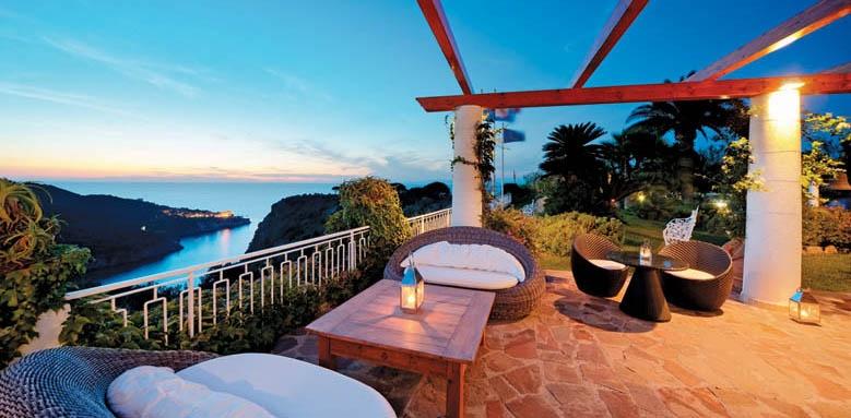 San Montano Resort & Spa, terrace