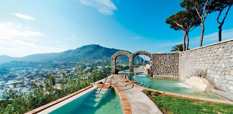 San Montano Resort & Spa pool view