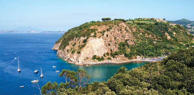 San Montano Resort & Spa, coastal view