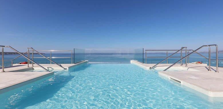 Iberostar Bahia de Palma, rooftop pool