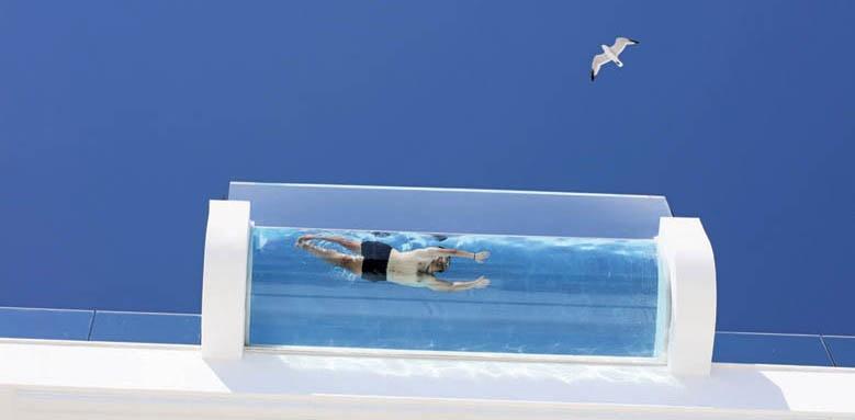 Iberostar Bahia de Palma, glass bottom pool