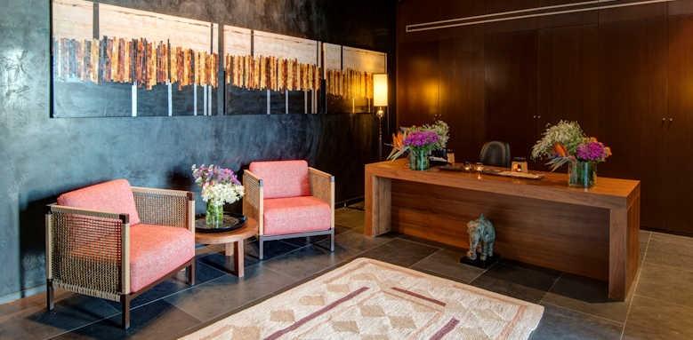 Anantara Vilamoura Resort, spa reception