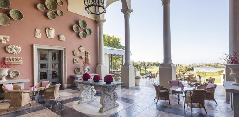 Anantara Marbella Resort,  terrace