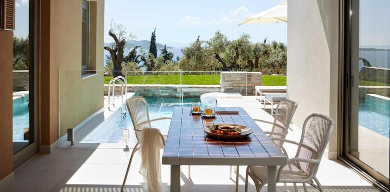 Eagles Villas, One Bedroom Pool Villa with Garden Sea View