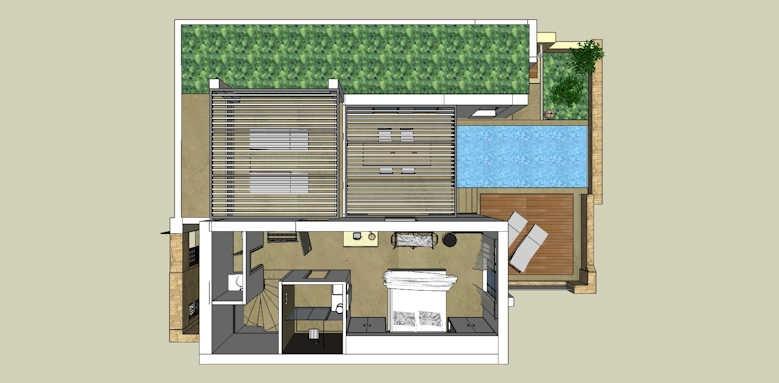 Eagles Villas, Residential Pool Villa with Private Garden Sea View