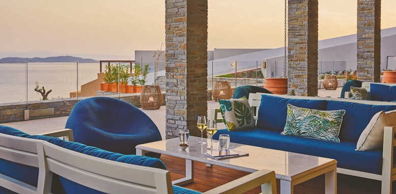 Eagles Villas, terrace area