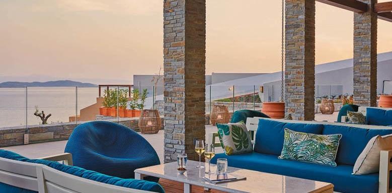 Eagles Villas, terrace