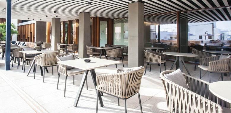 OD Talamanca, restaurant terrace