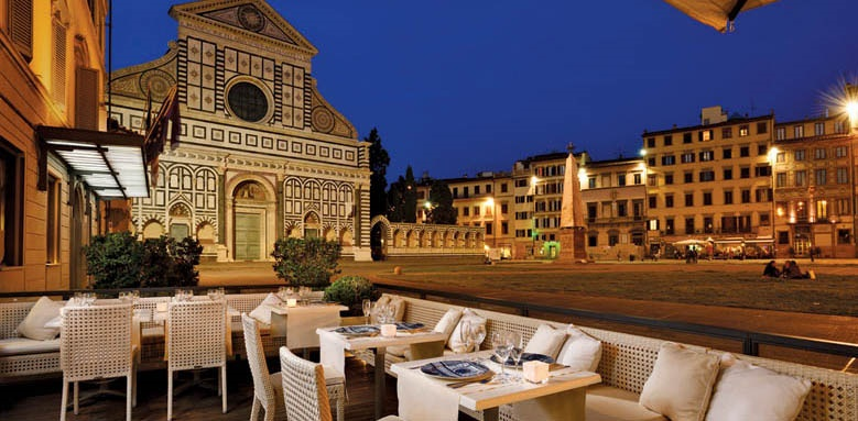Grand Hotel Minerva, restaurant
