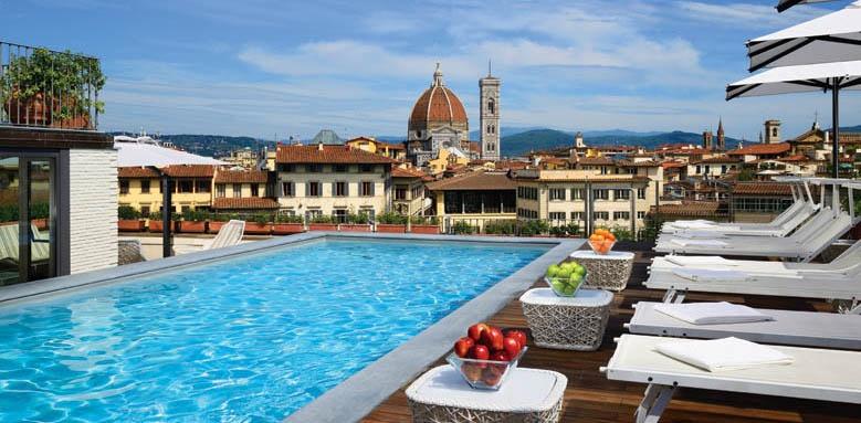 Grand Hotel Minerva, pool