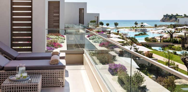 Sani Dunes, balcony view