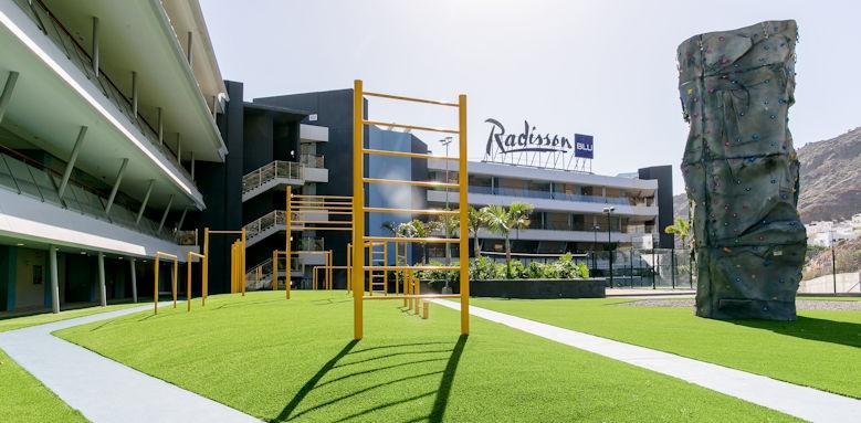 Radisson Blu, sport centre