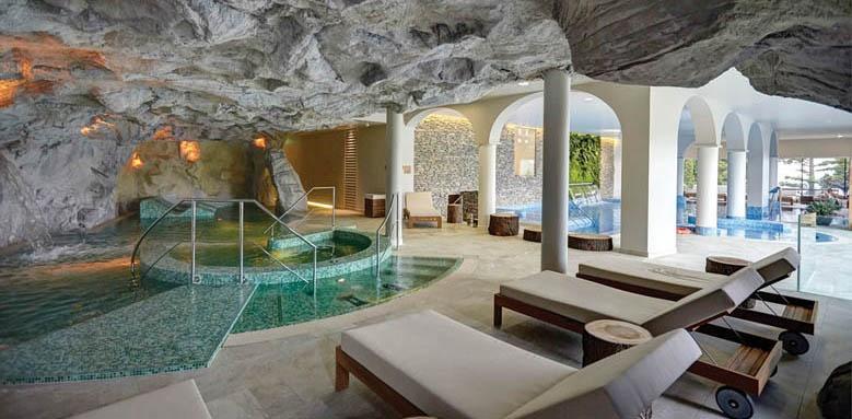 Kurhaus Cademario Hotel & Spa, spa pool