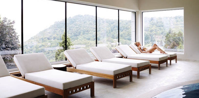 Kurhaus Cademario Hotel & Spa, relaxation area