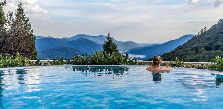 Kurhaus Cademario Hotel & Spa, pool