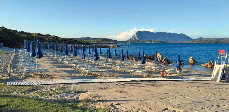 Due Lune Resort Golf & Spa, beach