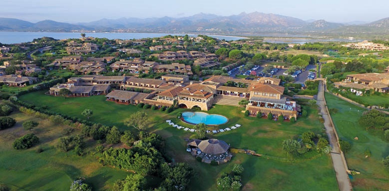 Due Lune Resort Golf & Spa, aerial view