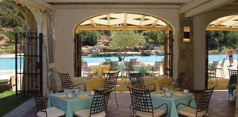Colonna Pevero Hotel, restaurant