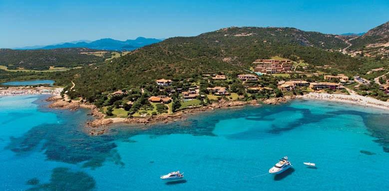 Colonna Pevero Hotel, bay view