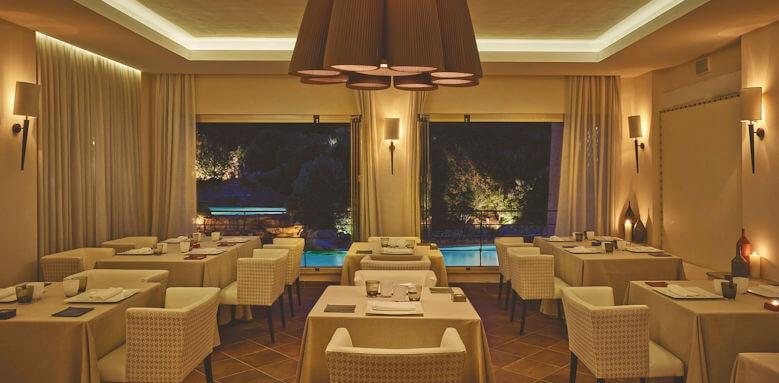 Colonna Pevero, zafferano restaurant