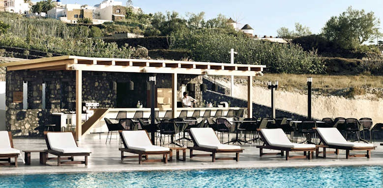 Santo Maris Suites, pool bar