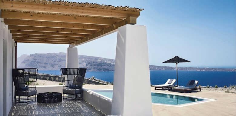 Santo Maris Suites, Ilios sunset villa with private pool