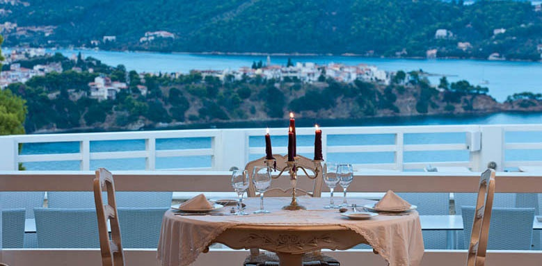 Kivo Art & Gourmet Hotel, restaurant view