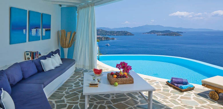 Kivo Art & Gourmet Hotel, suite private pool