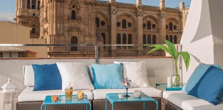 Molina Lario, terrace lounge