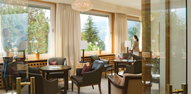 Beausite Park Hotel Wengen, lounge