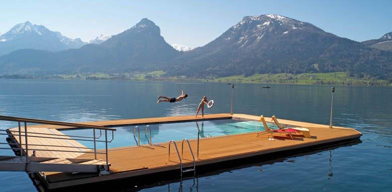 Hotel Im Weissen Rossl, pool