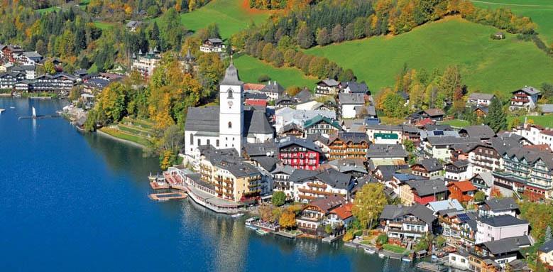 Hotel Im Weissen Rossl, view