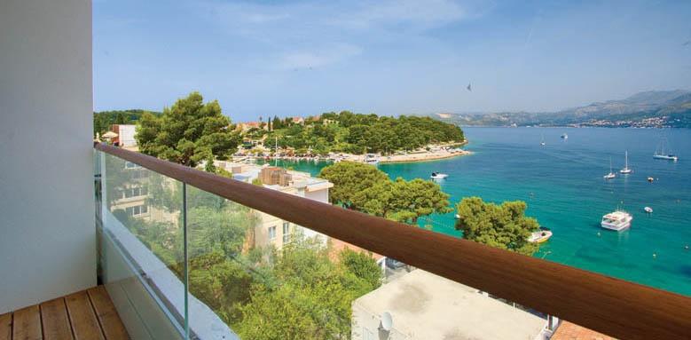 Hotel Cavtat, balcony view