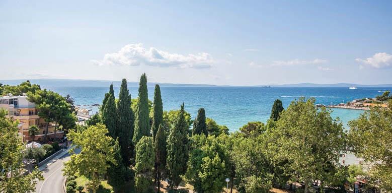 Hotel Park Split, hotel view