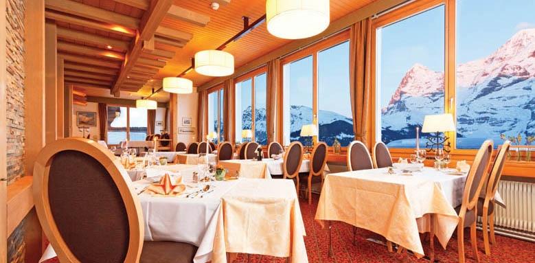 Hotel Eiger, restaurant