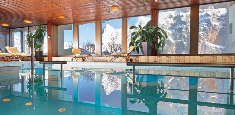 Hotel Eiger, indoor pool