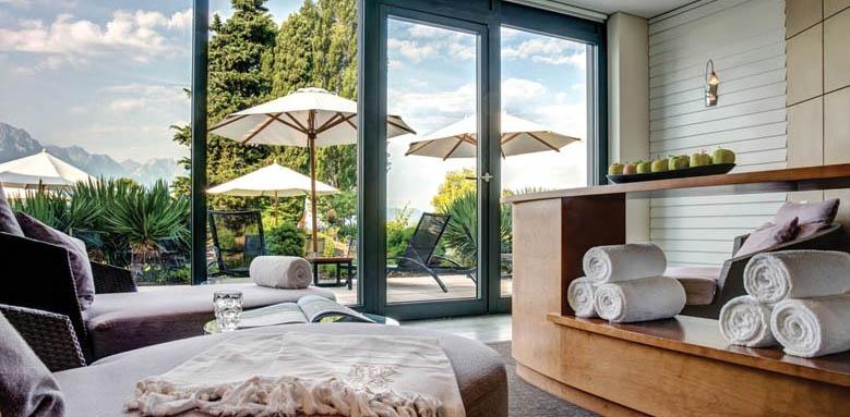 Fairmont Le Montreux Palace, spa