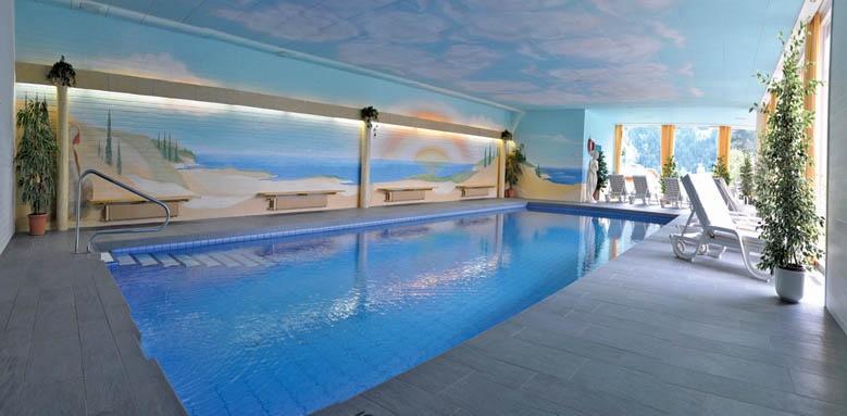 Romantik Hotel Schweizerhof, indoor pool