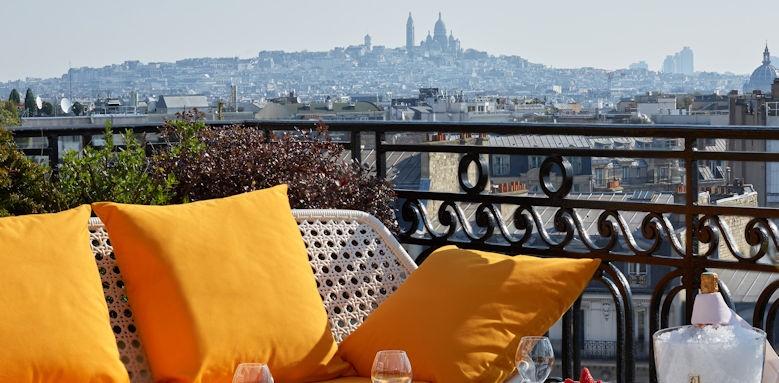 Hotel Raphael, Terrace Image 1