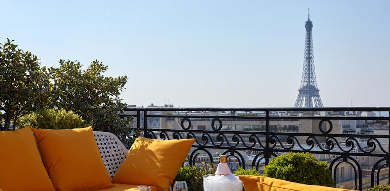 Hotel Raphael, Terrace Image 2