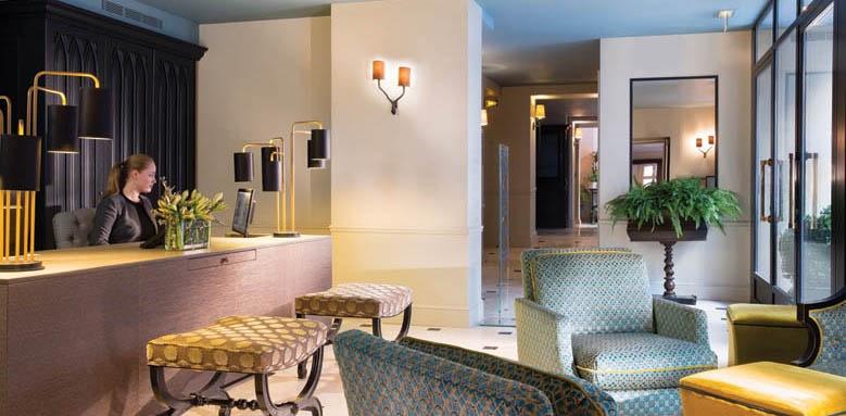 le saint hotel, lobby
