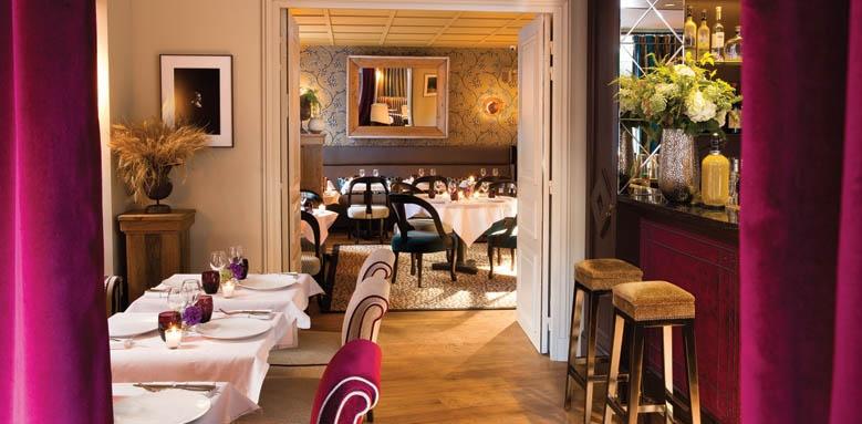 le saint hotel, restaurant