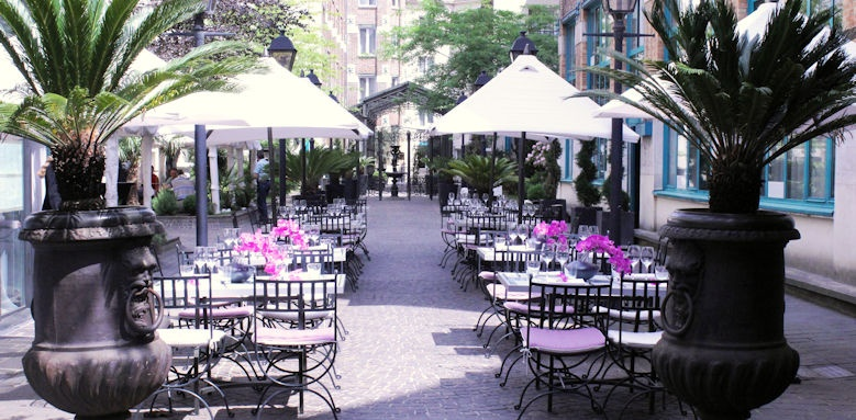 Jardins du Marias, Terrace Image