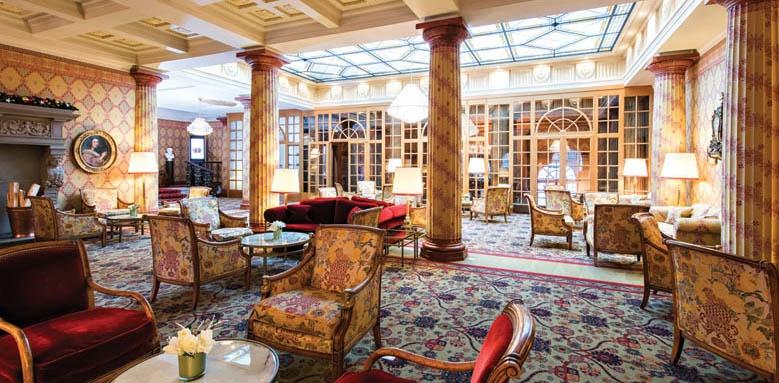 Hotel Kulm St Moritz, lounge