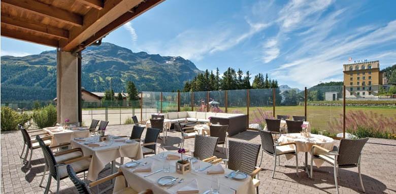 Hotel Kulm St Moritz, restaurant