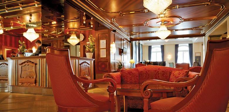 Grand Hotel Zermatterhof, lobby