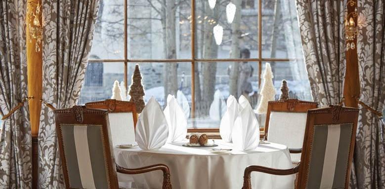 Grand Hotel Zermatterhof, restaurant