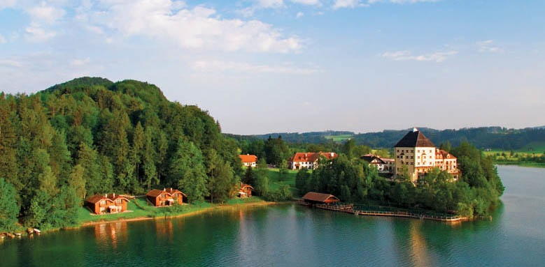 Schloss Fuschl, a Luxury Collection Resort & Spa, lake